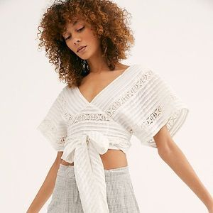 Free People Wrap Top